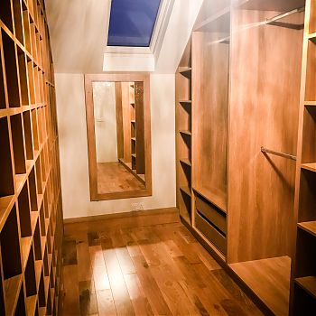 Bedroom storage - walk in wardrobe Cork