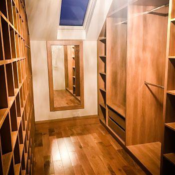 Bedroom storage - walk in wardrobeCork