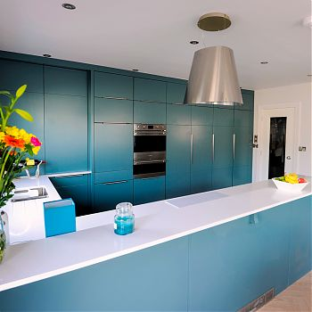 Kitchen Feature Cork - Inchyra Blue