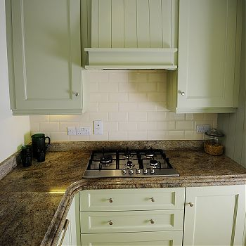 Compact gallery style kitchen Cork