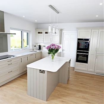 contemporary kitchen cork
