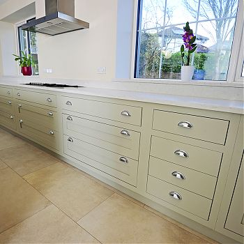 Ash silestone kitchen Cork