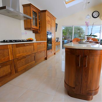 Solid American Walnut Kitchen Cork