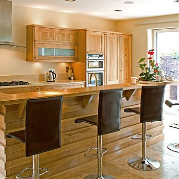 Kitchen designed and fitted Douglas