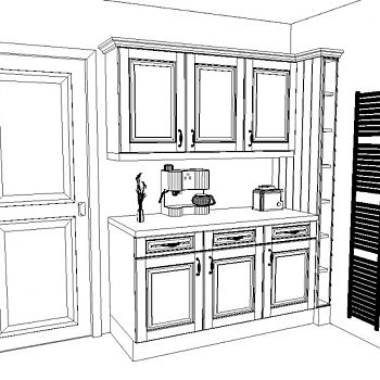 CAD Kitchen Design